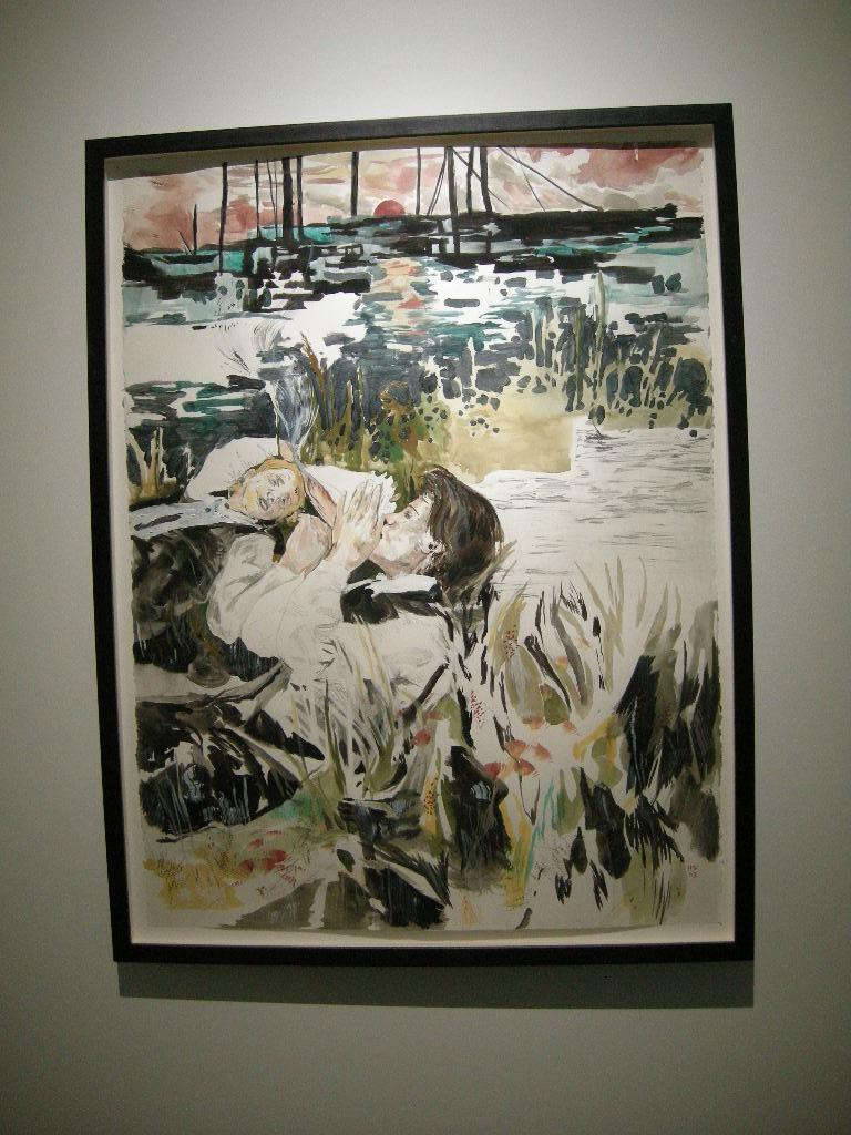 Hernan Bas Painting