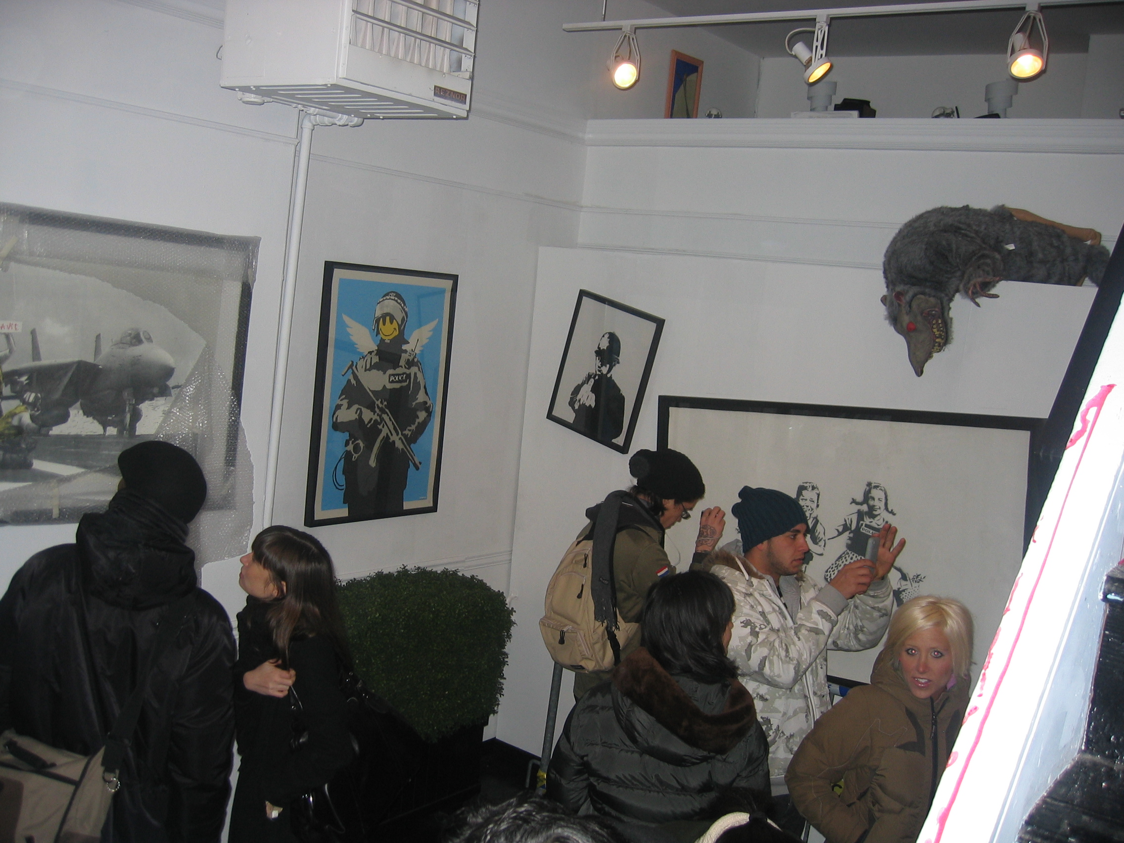 Banksy Gallery Shot