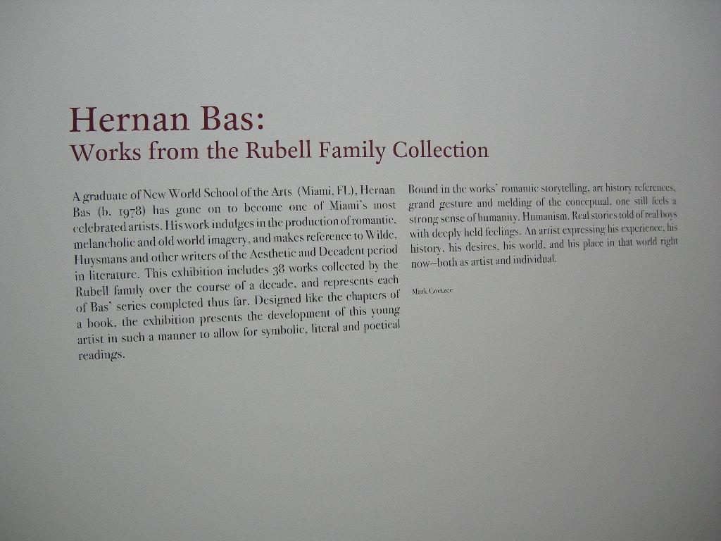Hernan Bas Writing