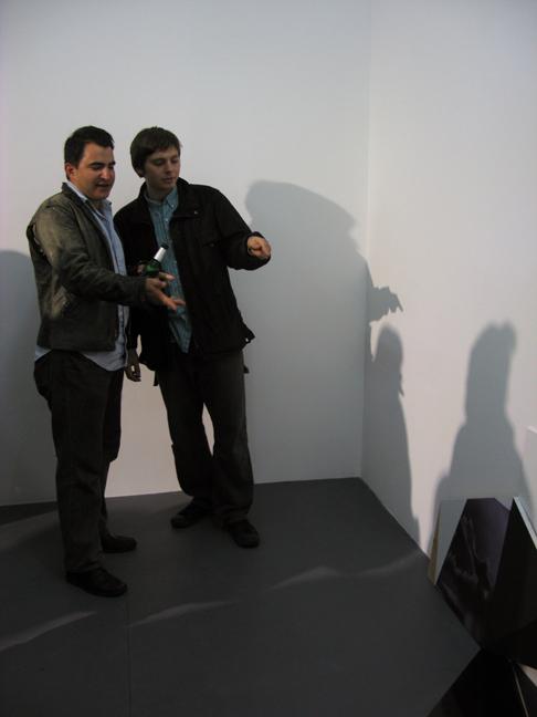 David Brooks and Johannes Van Der Beek