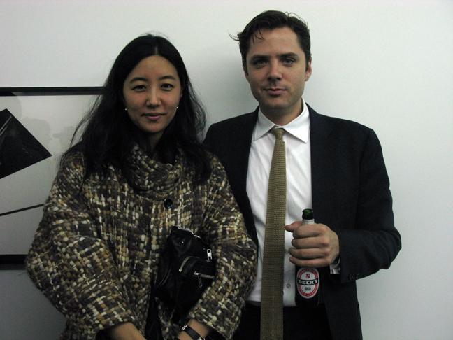 Matthew Dipple and Tina Chai