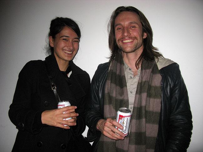 Sriwhana Spong and Martin Basher
