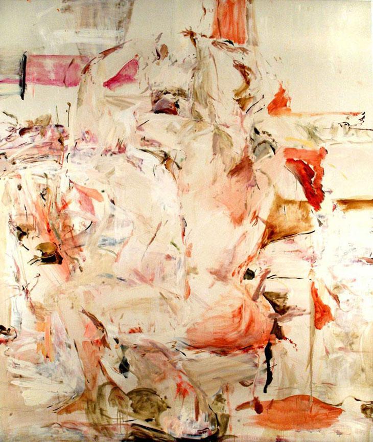 The Fugitive Kind, 2000 oil on linen image via www.saatchi-gallery.co.uk