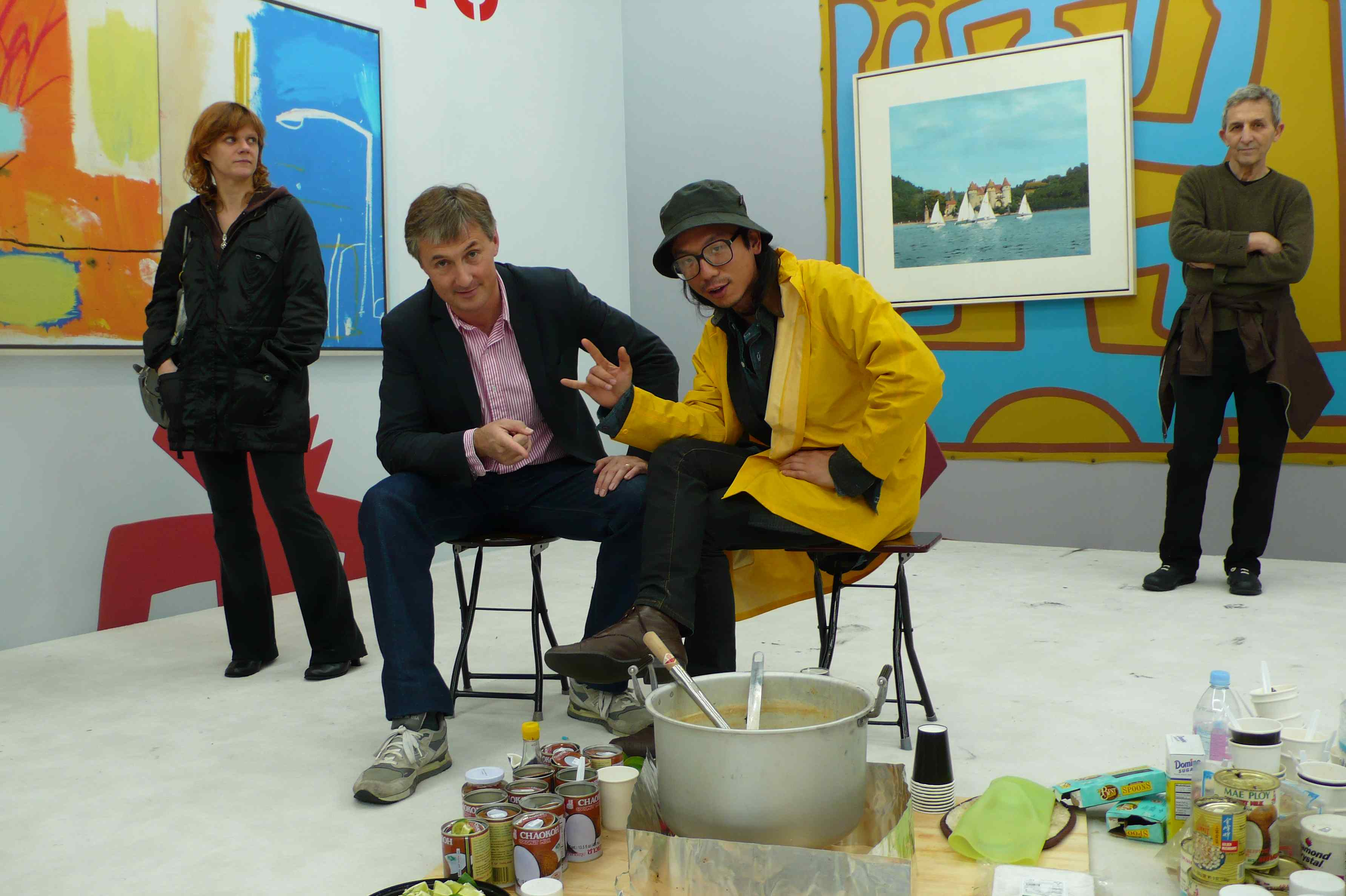 David Zwirner and Tony Huang\'s hospitality via Art Observed
