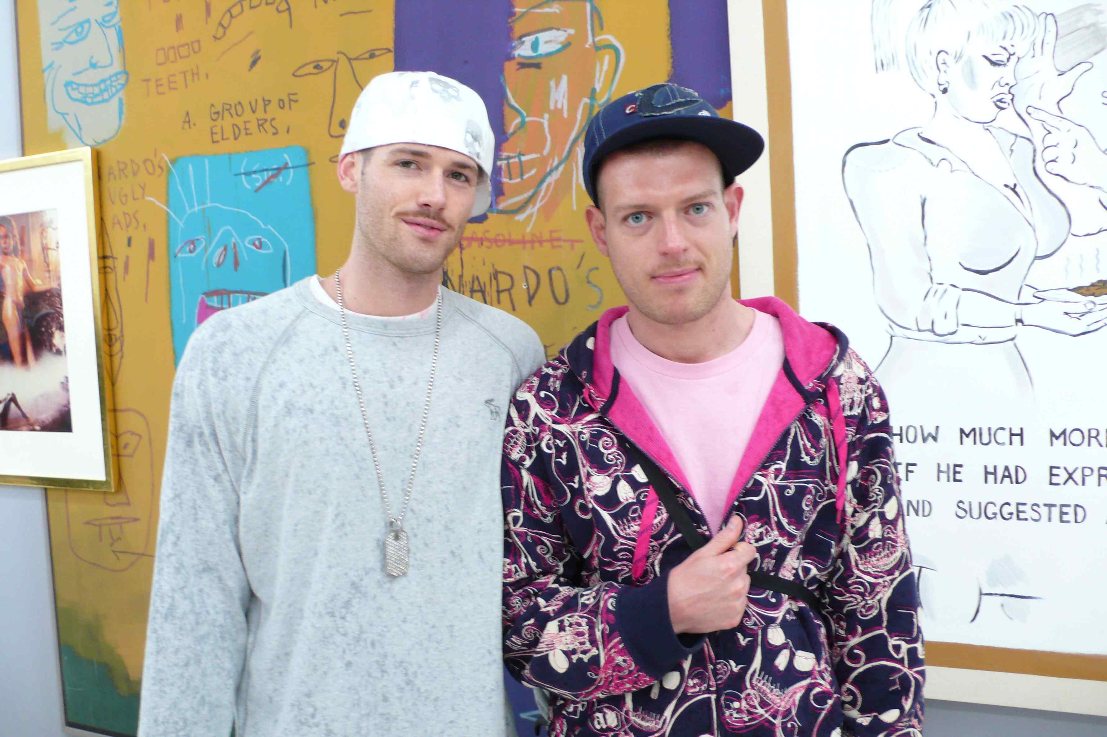 Slava & Brian of SUPERM, via Art Observed