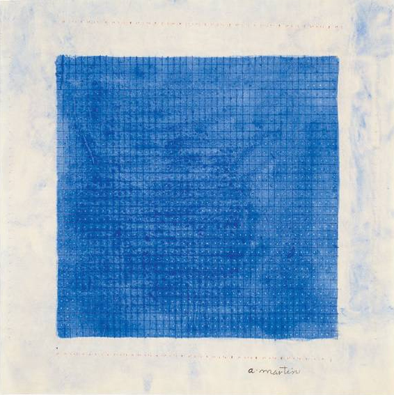 \'Stars\' by Agnes Martin