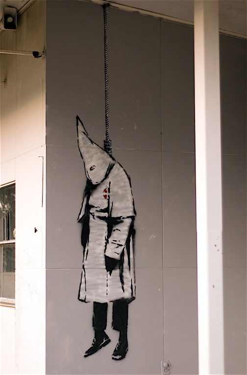 Banksy KKK in Alabama