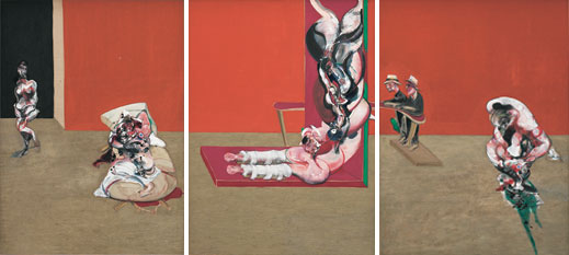 Crucifixion (1965) by Francis Bacon