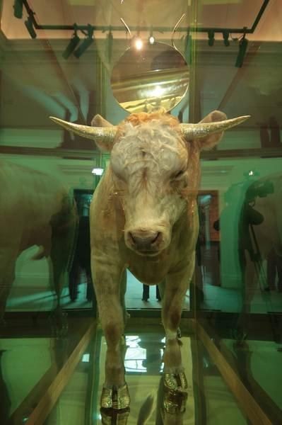 Damien Hirst Golden Calf Sotheby\'s