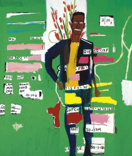 Desmond by Jean Michel Basquiat