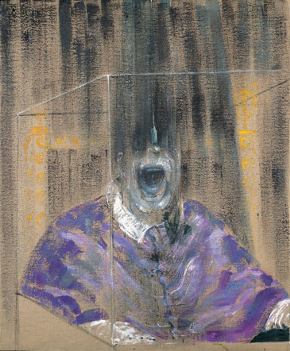 Head VI (1949) by Francis Bacon, on display at the Tate Britain