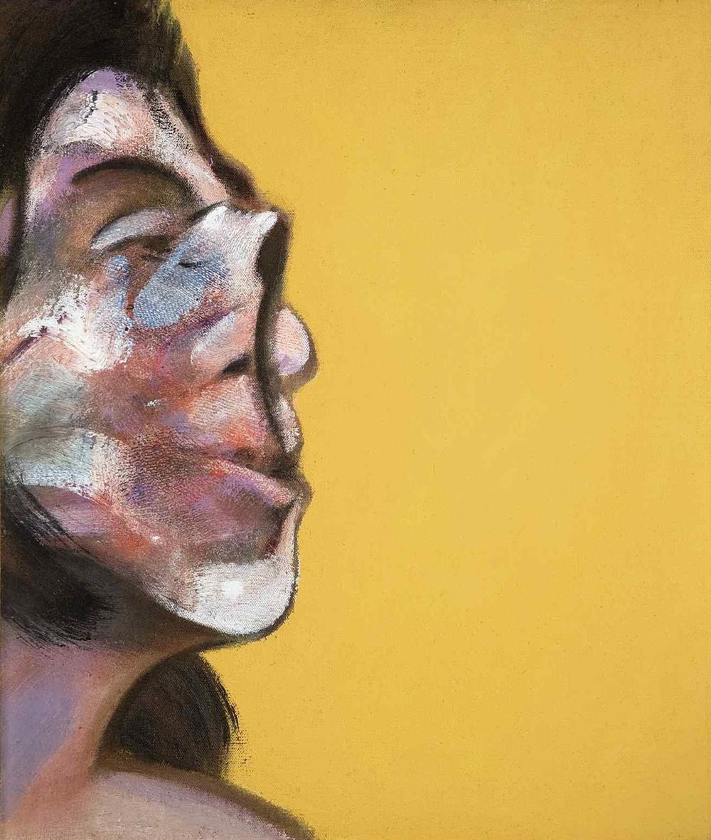 Henrietta Moraes portrait by Francis Bacon, on sale at Christie\'s