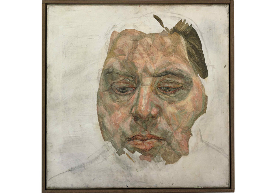Lucian Freud\'s Rarely-seen Portrait of Francis Bacon