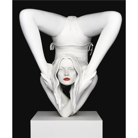 """Red Sphinx\"" by Marc Quinn"