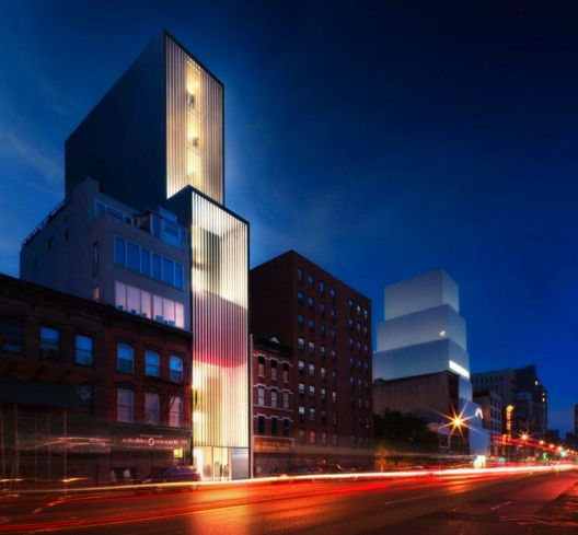 New Sperone Westwater gallery on Bowery, designed by Norman Foster