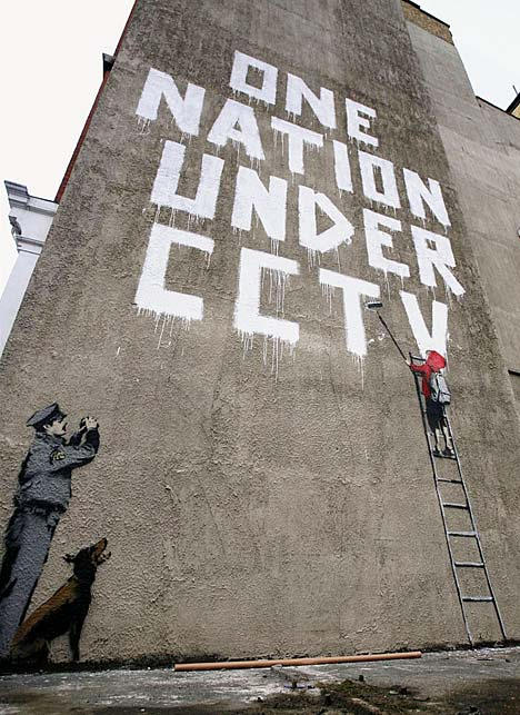 One Nation Under CCTV by Banksy