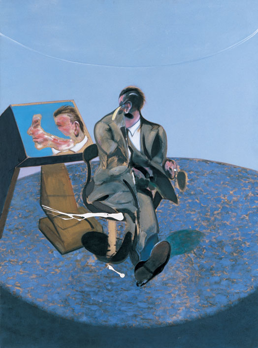 Study of George Dyer in a Mirror (1963) by Francis Bacon