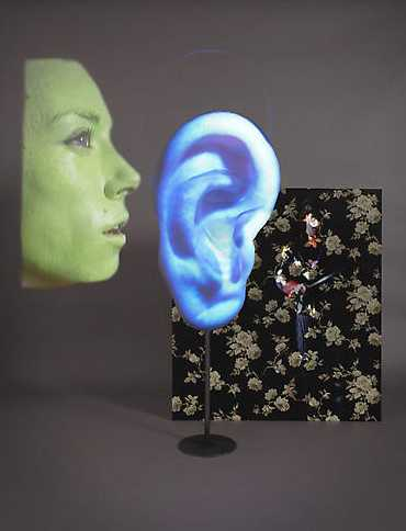 ASL by Tony Oursler at the Lisson Gallery London