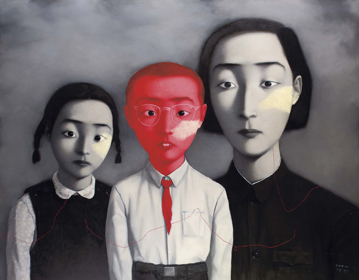Family by Zhang Xiaogang