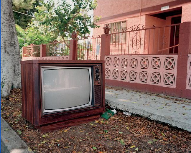 Abandoned TV (2005) by Catherine Opie