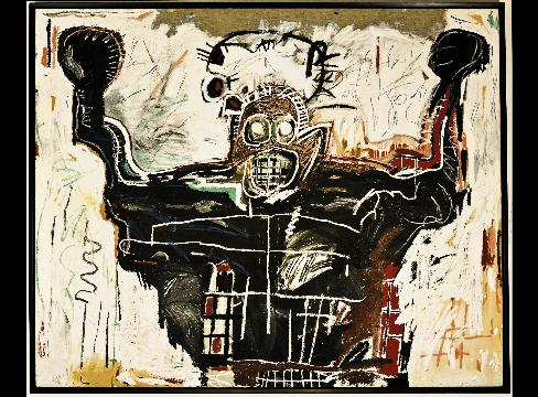 Untitled by Basquiat