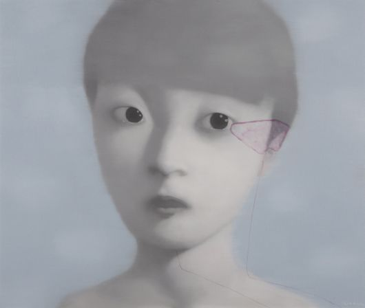 ZHANG XIAOGANG - Bloodline Series: A Boy, 2002
