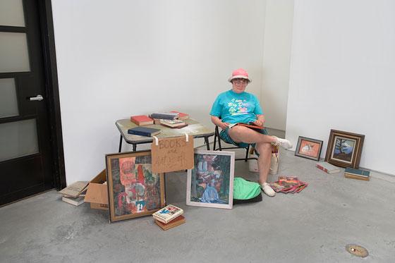 Duane Hanson's Flea Market Lady