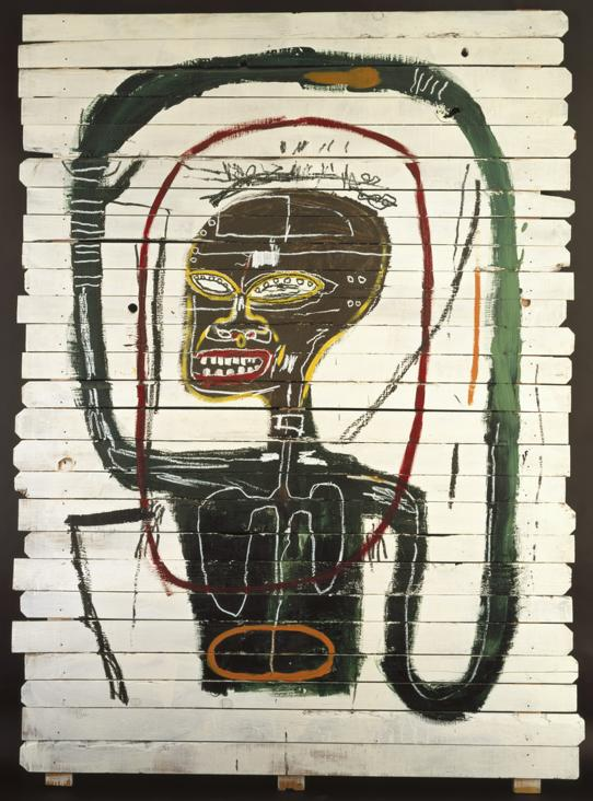 Flexible (1984) by Basquiat