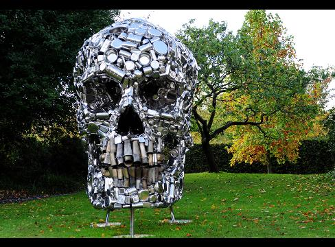 Subodh Gupta - \'\'Mind Shut Down\'\'