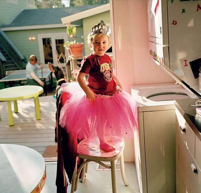 Oliver in a Tutu (2004) by Catherine Opie