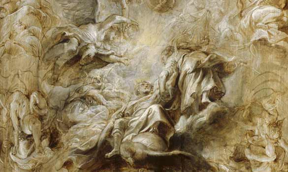 Rubens\' The Apotheosis of James I
