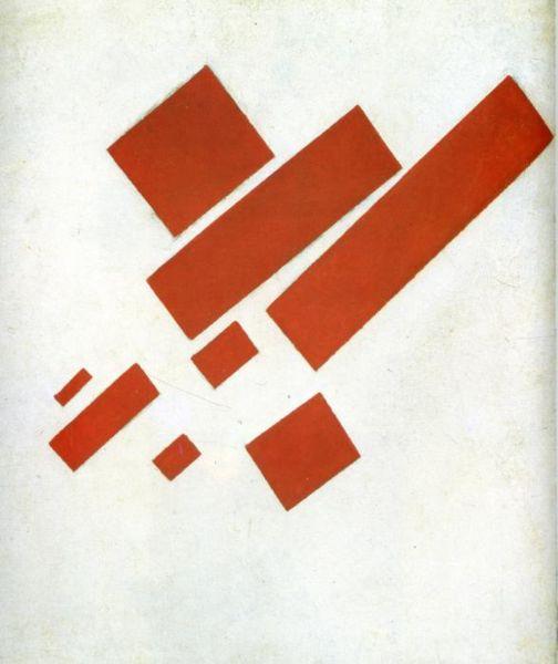 Suprematism (Self Portrait) by Malevich