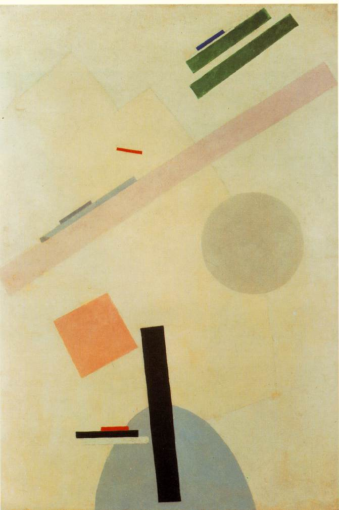 Suprematist by Malevich
