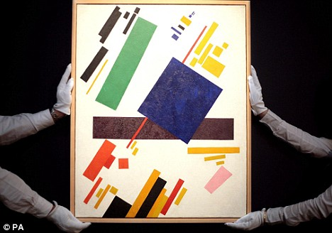 Suprematist Composition by Malevich