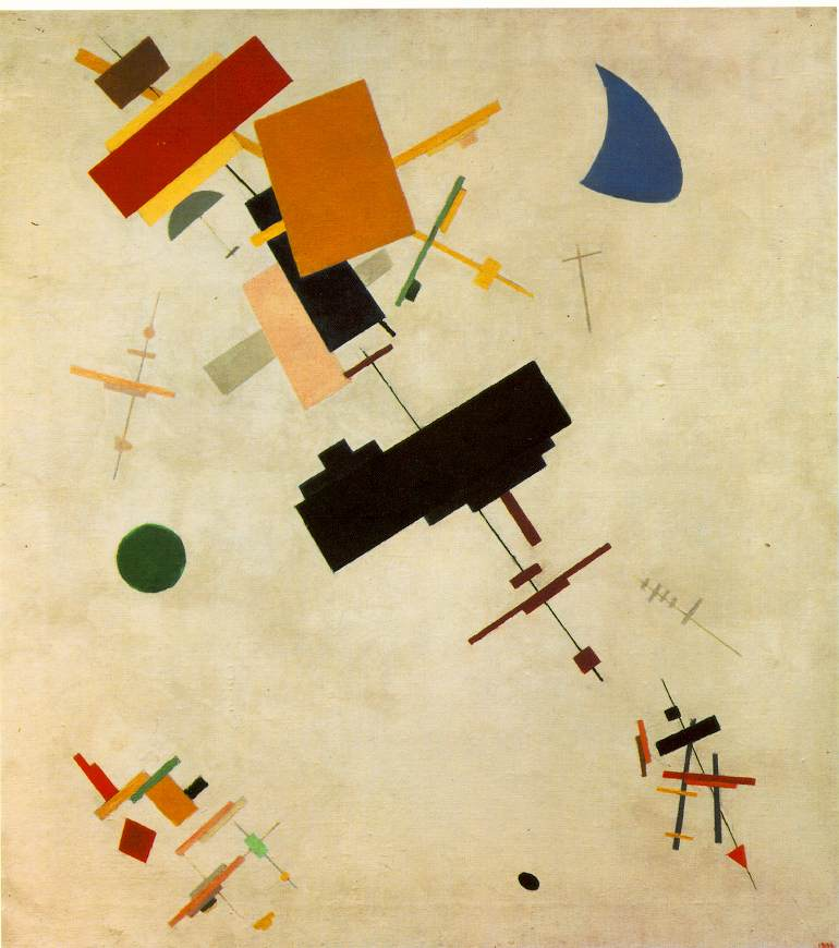 Supremus 56 by Malevich