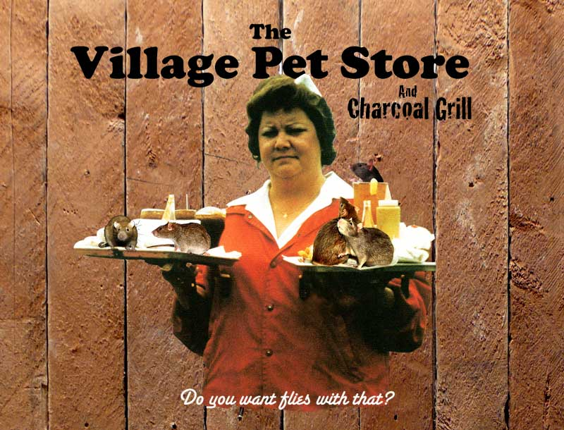 Village Pet Store and Charcoal Grill
