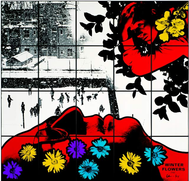 Winter Flowers by Gilbert and George