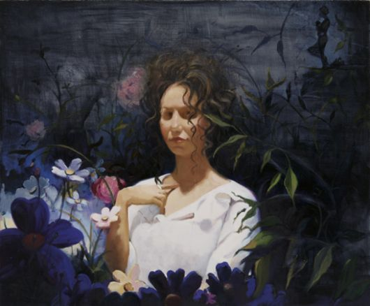 Lisa Yuskavage - Dark Garden II, 2003