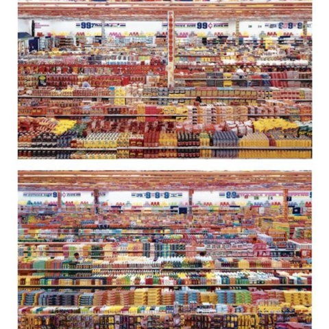 andreas-gursky-99-cent-ii-diptych-2001