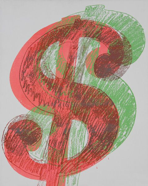 ANDY WARHOL - $, 1981 - UNSOLD - ESTIMATE $350,000-$450,000