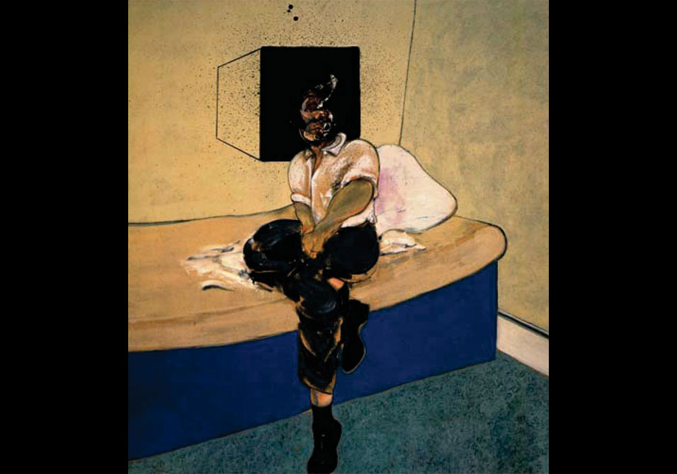 Christie\'s is pleased to announce the sale of the Francis Bacon's Study for Self Portrait, 1964,