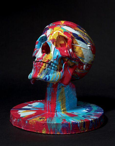 DAMIEN HIRST - Happy Head No. 7, 2007 - ESTIMATE $70,000-$90,000