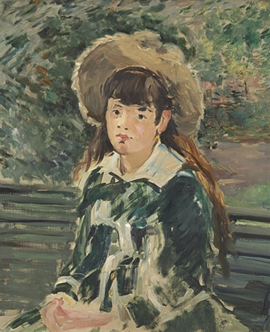 Édouard Manet - Fillette sur un banc - Est. $12-$18m - brought in