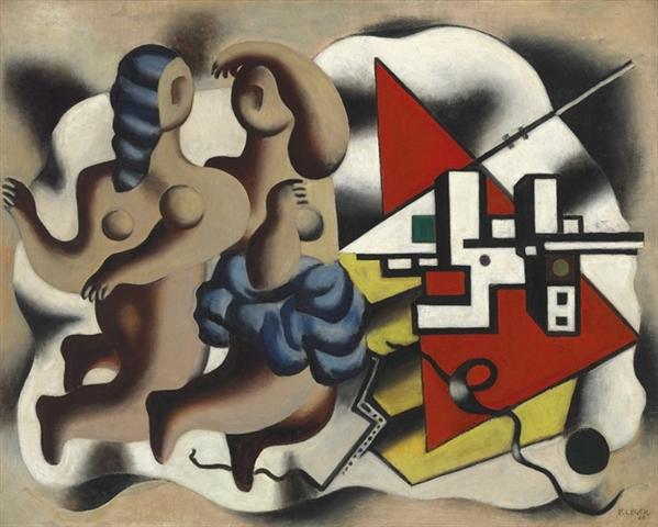 Fernand Léger - Les danseuses aux clés, étude - 1928 - $2m - $3m sold for $1,762,500