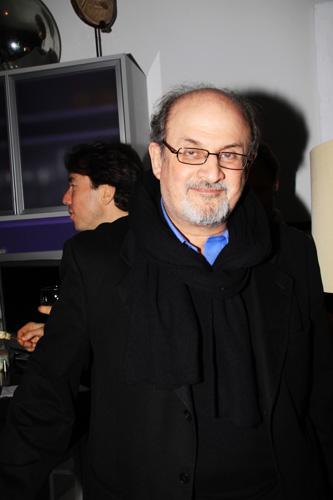 Salman Rushdie via Paper