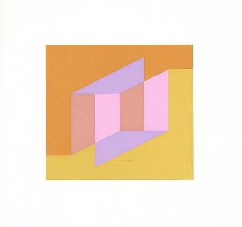 Homage to the Square, Silkscreen -image via www.fineart.com