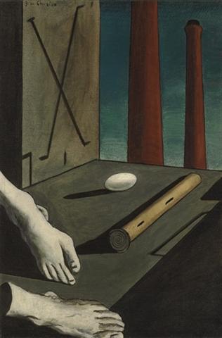 Giorgio de Chirico - Composition métaphysique - 1914 - est. $6m-$8m sold for $6,130,500