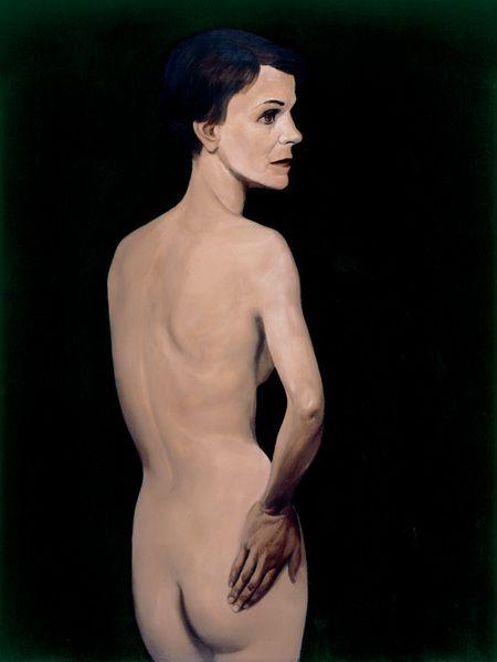 JOHN CURRIN - Standing Nude, 1993 - Withdrawn- ESTIMATE $500,000-700,000