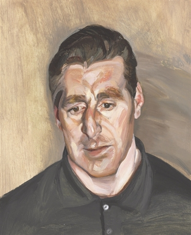 lot# 44 - Lucian Freud - Head of a man - $1.8m - $2.5m - Sold For $2,098,500