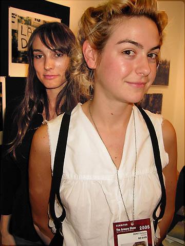 Mirabelle Marden and Melissa Bent